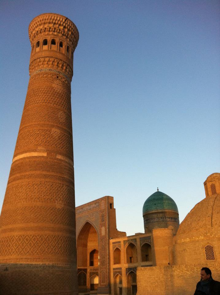 The Minaret late afternoon (with Rob)