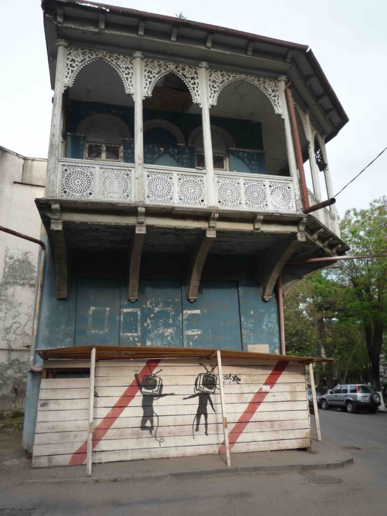 Old town architecture Tbilisi