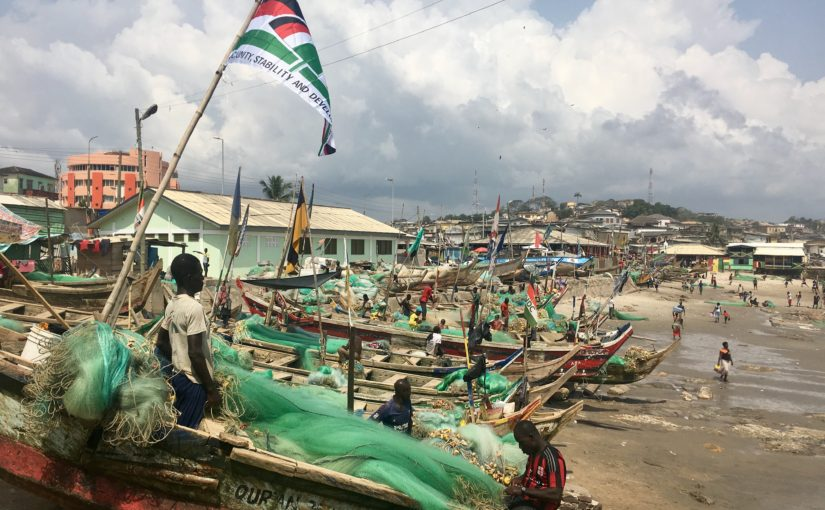 Ghana – Cape Coast and cleaning