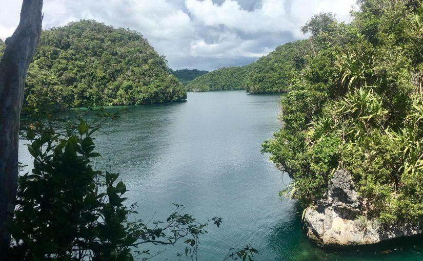 Palau – kayaking the Rock Islands